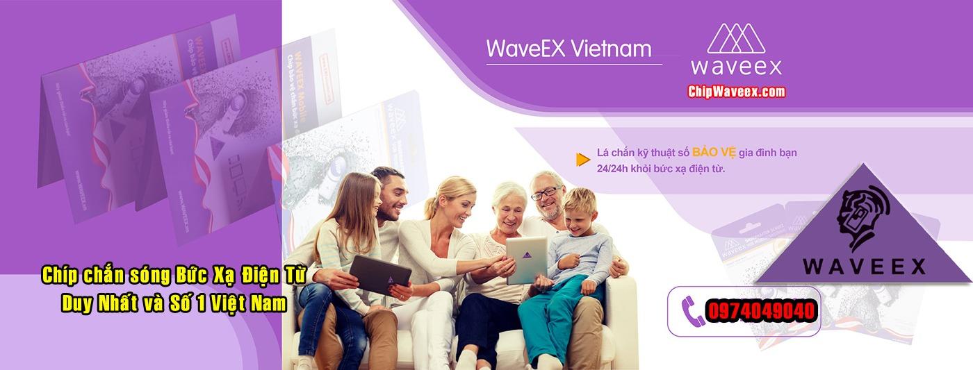 Chip Waveex Mobile lá chắn kỹ thuật số bảo vệ gia đình khỏi bức xạ điện từ