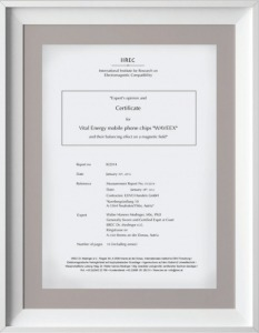 Chứng nhận IIREC của chip Waveex
