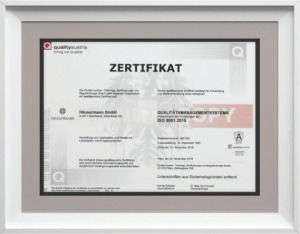 Chứng nhận ISO 9001-2015 của chip Waveex của Waveex