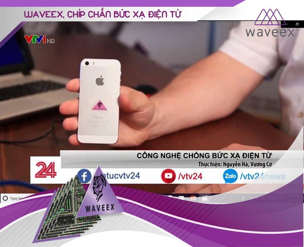 Chip Waveex chip chắn bức xạ điện từ Waveex số 1 thế giới