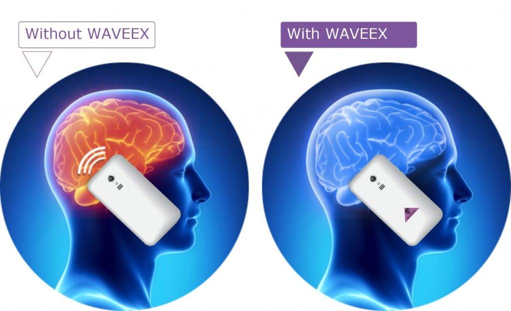 Chip Waveex bảo vệ não bộ và sức khỏe trước tác hải của bức xạ điện từ