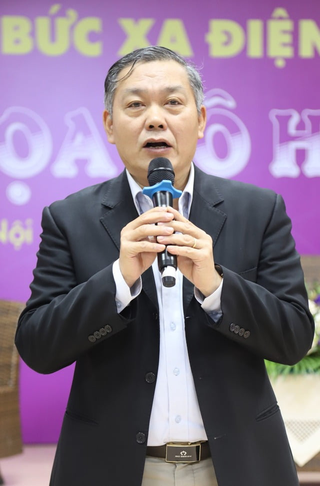 Ông Trần Đức Lai chủ tịch hội Vô tuyến điện Việt Nam