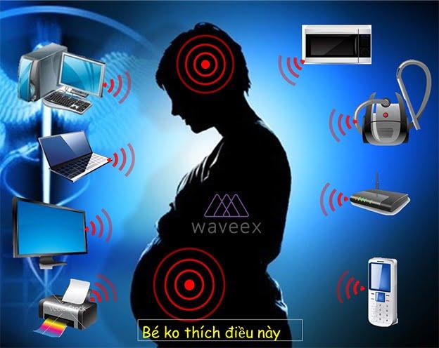 Tác hại của sóng điện thoại ảnh hưởng đến thai nhi khi sử dụng quá nhiều