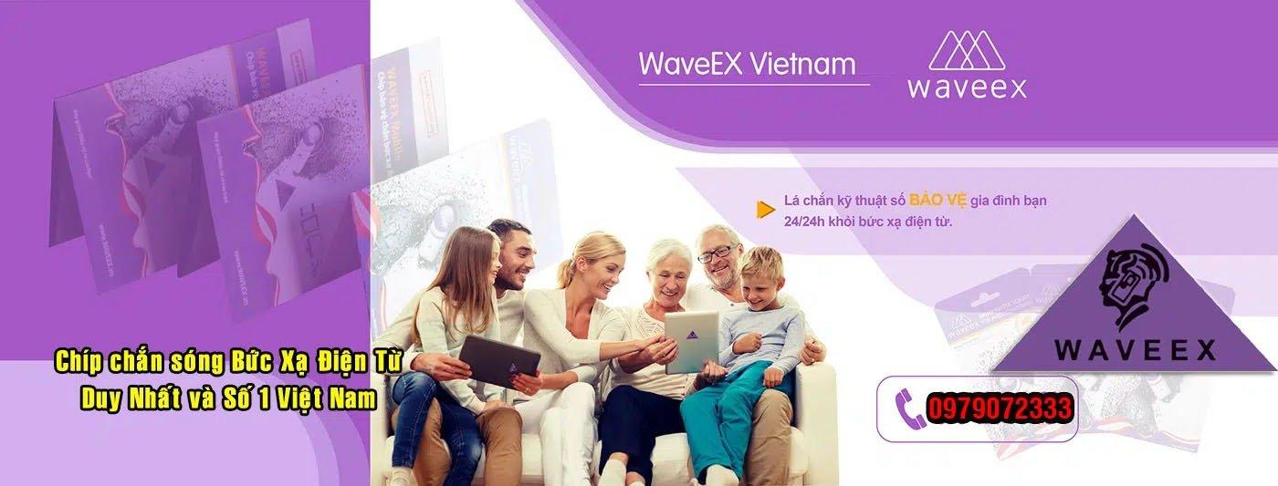 Chip chống bức xạ điện từ Waveex số 1 Việt Nam